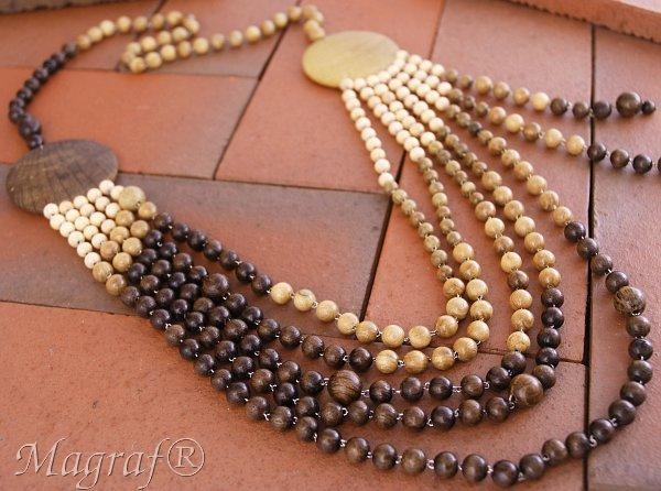 aa99277d51f007 Biżuteria - Biżuteria drewniana - Korale drewniane - sklep Magraf.eu